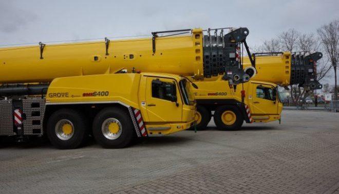 Автокран GROVE 400 тонн