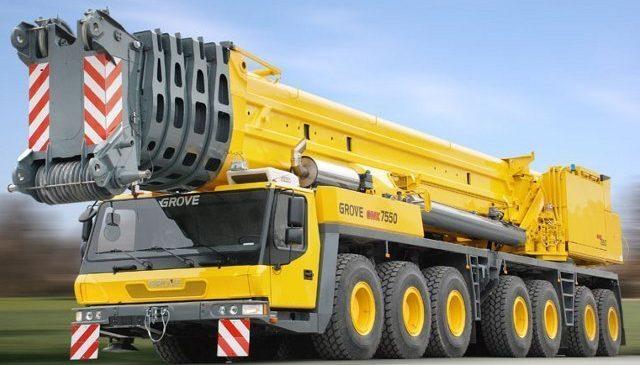 Автокран GROVE 450 тонн