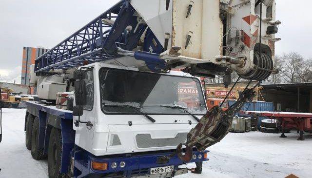 Автокран GROVE 55 тонн