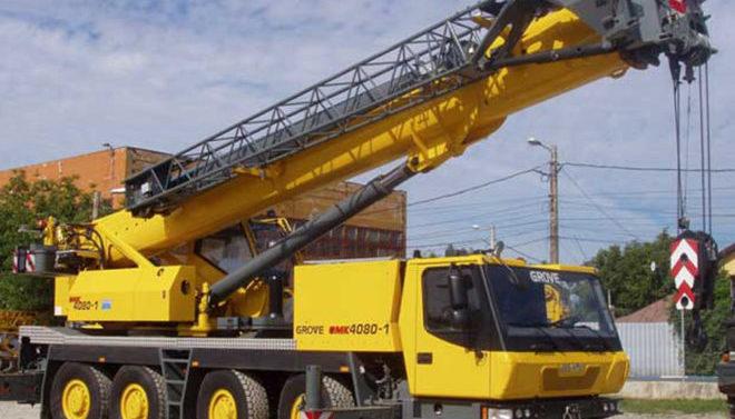 Автокран GROVE 80 тонн