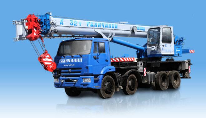 Автокран Галичанин 32 тонны