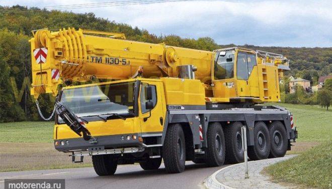 Автокран Grove 130 тонн