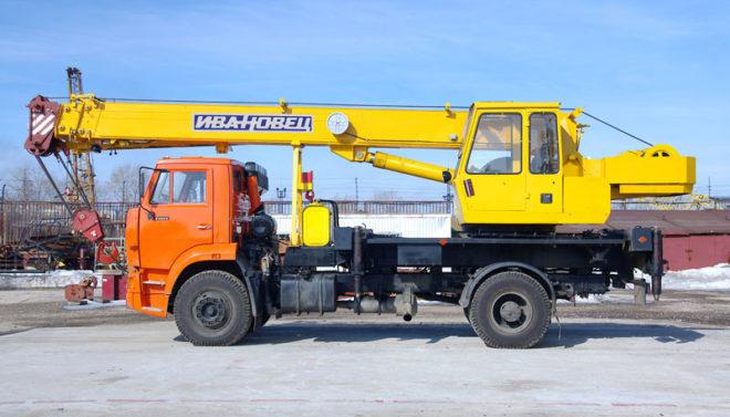 Автокран Ивановец 16 тонн