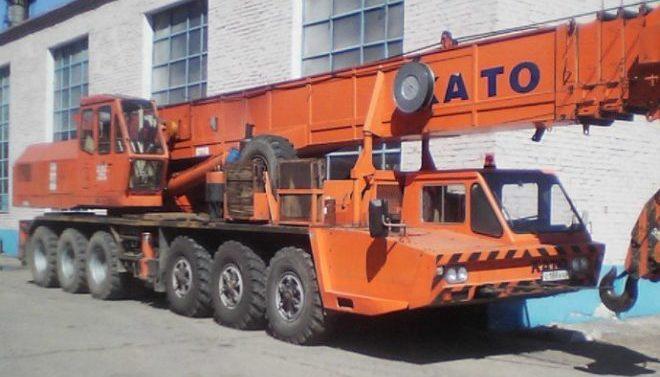 Автокран KATO 75 тонн