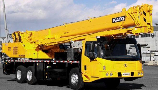 Автокран KATO NK-300VR