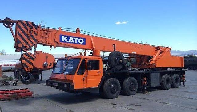 Автокран KATO NK 450