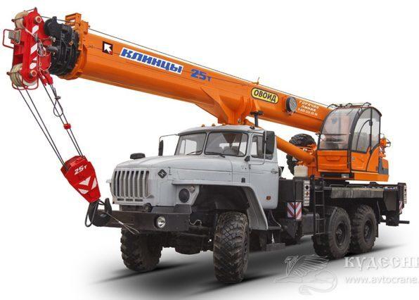 Автокран КС-55727 Клинцы