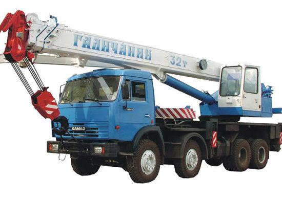 Автокран КС-55729-1В Галичанин