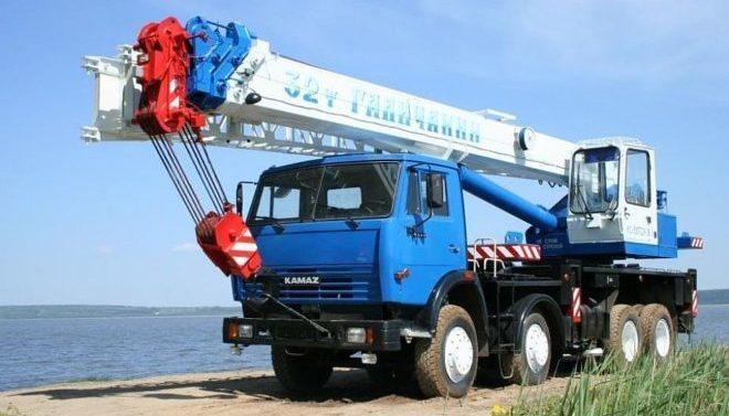 Автокран Клинцы 32 тонны