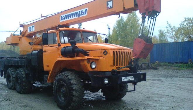 Автокран Клинцы КС 35719