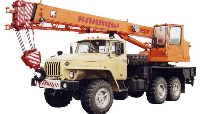 Автокран Клинцы КС-45719-3А