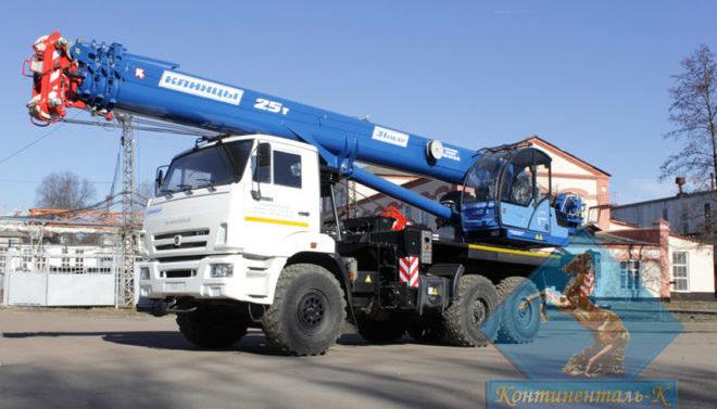 Автокран Клинцы КС-55713-5K-4