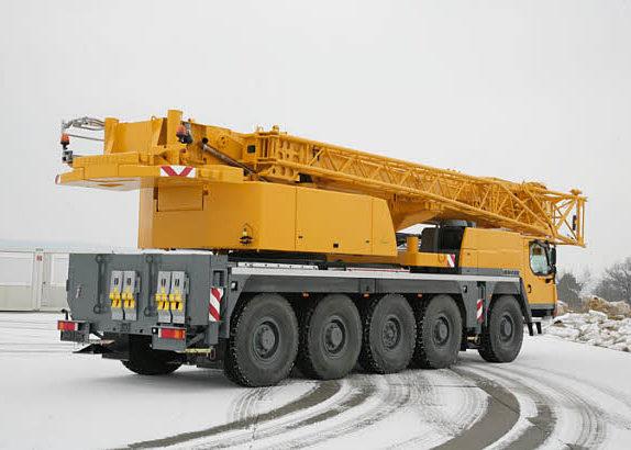 Автокран ЛИБХЕРР LTM-1100