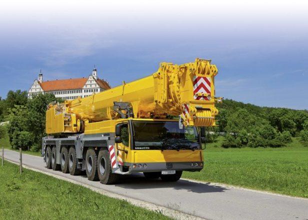 Автокран ЛИБХЕРР LTM-1350