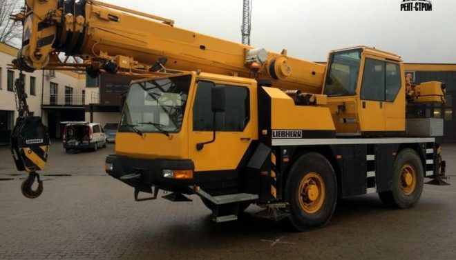 Автокран LIEBHERR 35 тонн