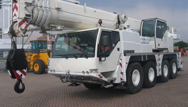 Автокран Liebher 60 тонн