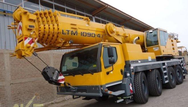 Автокран Liebher 90 тонн