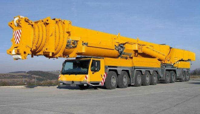Автокран Liebherr 1000 тонн
