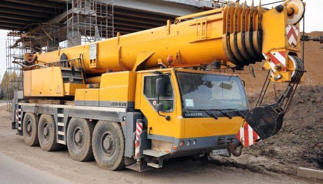 Автокран Liebherr 110 тонн
