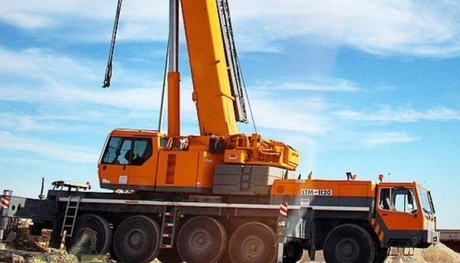 Автокран Liebherr 120 тонн