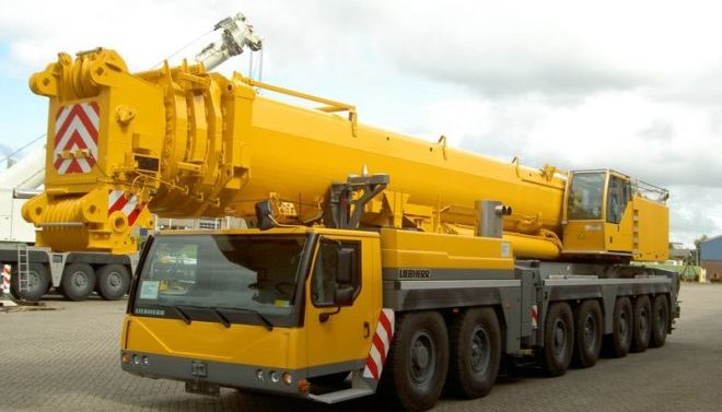 Автокран Liebherr 140 тонн