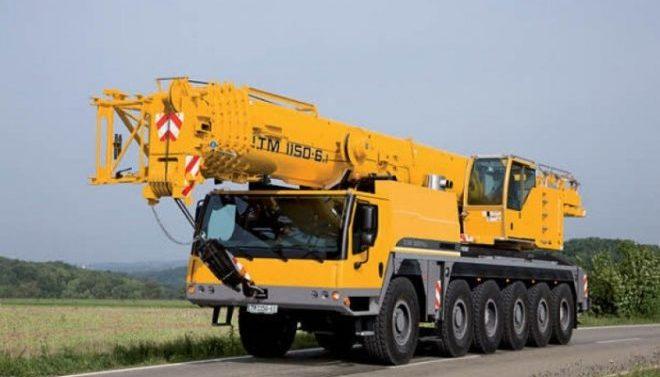 Автокран Liebherr 150 тонн