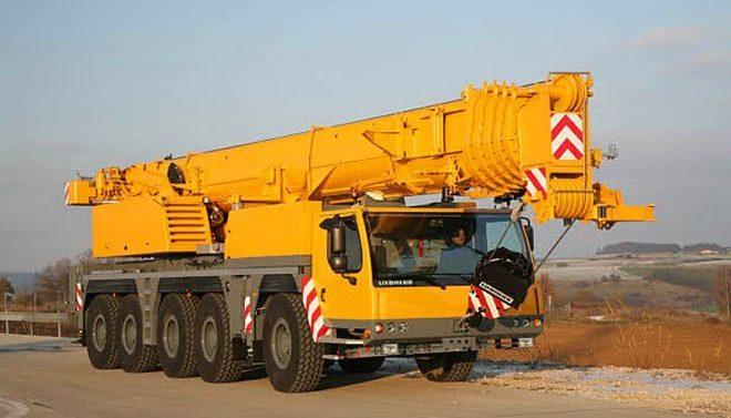 Автокран Liebherr 160 тонн