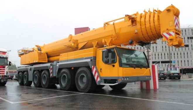 Автокран Liebherr 250 тонн