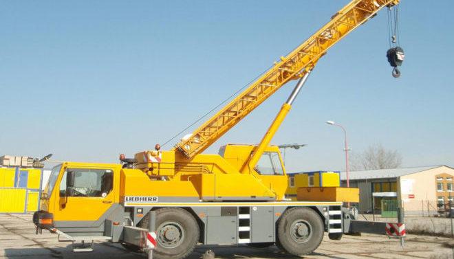 Автокран Liebherr 30 тонн