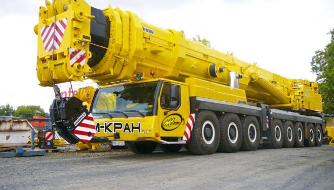 Автокран Liebherr 500 тонн