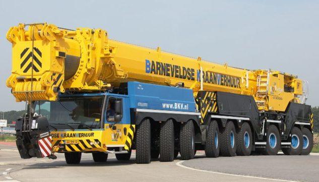 Автокран Liebherr 750 тонн