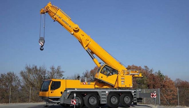 Автокран Liebherr 90 тонн