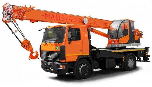 Автокран Машека 20 тонн