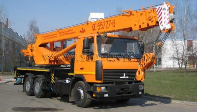 Автокран Машека 25 тонн