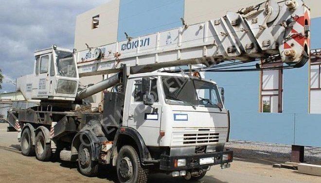 Автокран Сокол КС-6575С (Скат-50) 50 тонн