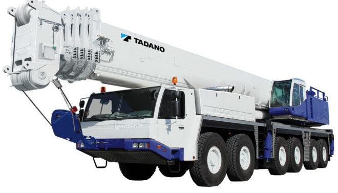 Автокран TADANO FAUN ATF-110G-5. Грузоподъемность 110 тонн