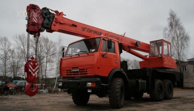 Автокран Углич 35 тонн