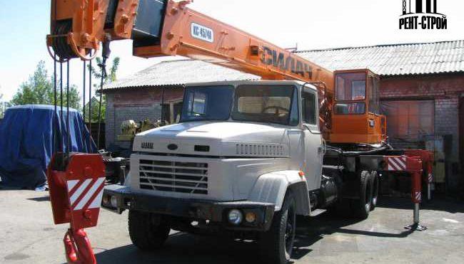 Автокран Углич КС-4574 20 тонн