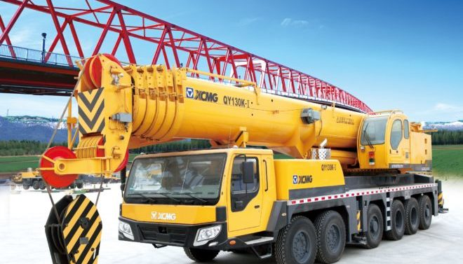 Автокран XCMG-QY130K-I-130 тонн