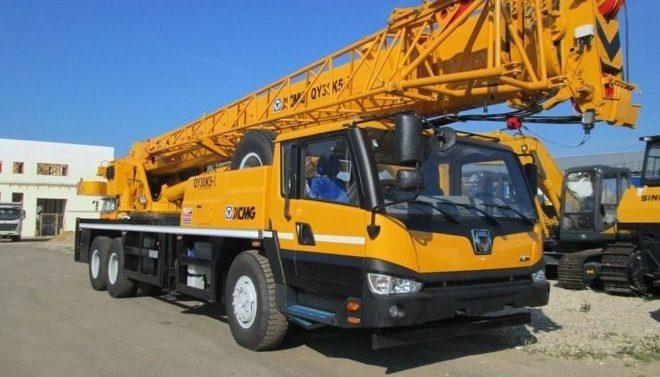 Автокран XCMG QY30K5-1, 30 тонн