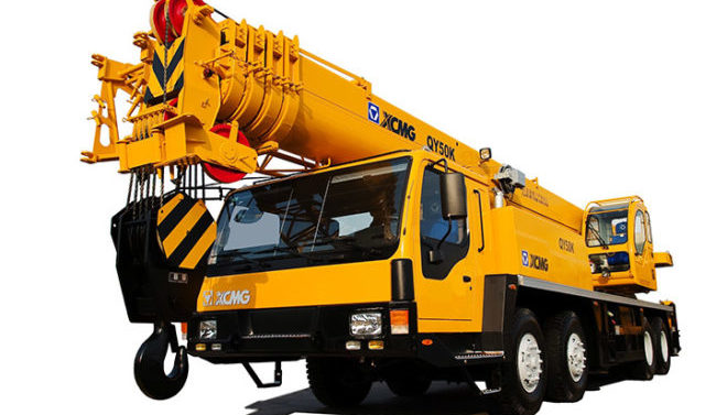 Автокран XCMG QY50KS 50 тонн