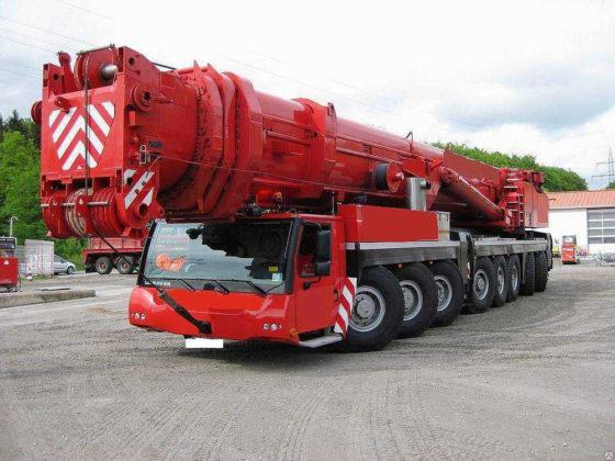 Автокран марки LIEBHERR на 500 тонн