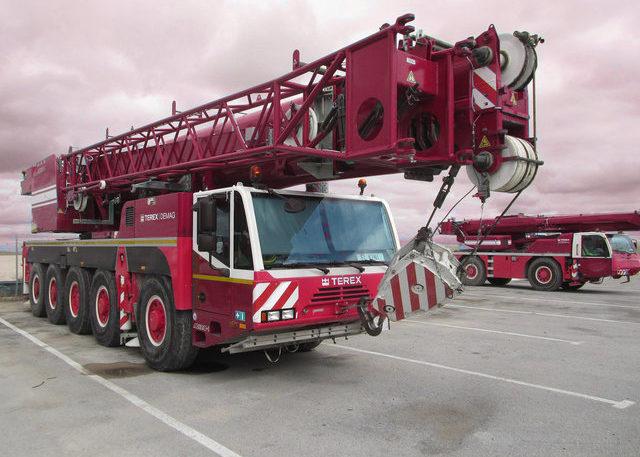 Автокраны 120 тонн