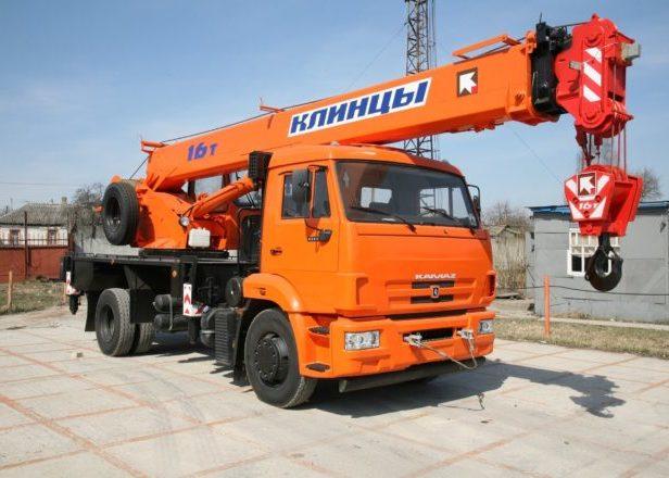 Автокраны 16 тонн