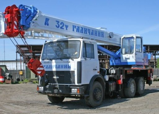 Автокраны 32 тонны