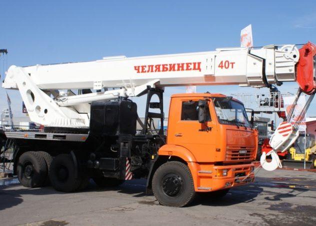 Автокраны 40 тонн