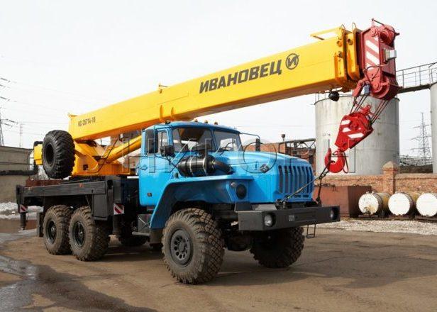 Автомобильный кран «Ивановец» 16 тонн