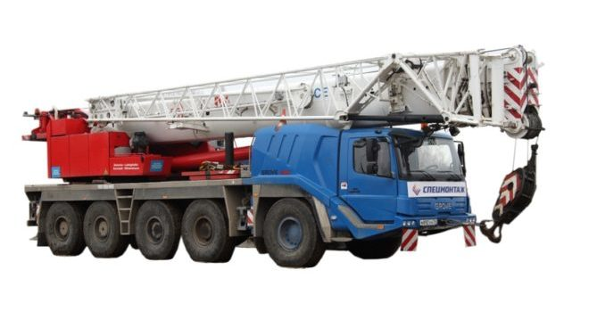 Кран GROVE GMK5130-2