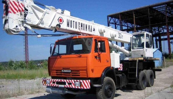 Мотовилиха КС-5579.21 на шасси КамАЗ 65115
