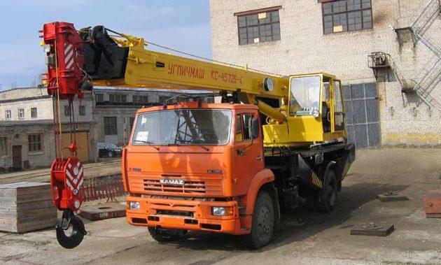 Углич КС-3577-3К на шасси КамАЗ 53605